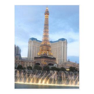 Turm VEGAS der Replik-EFFEL: Postkarten