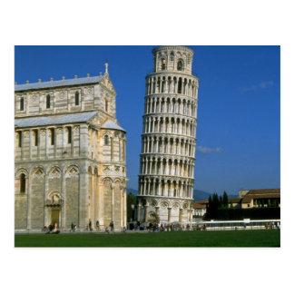 Turm von Pisa, Italien Postkarte