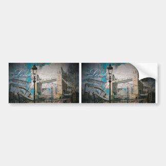 Turmbrücke Königreich-Laternenpfahlthemse London Autoaufkleber