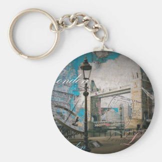 Turmbrücke Königreich-Laternenpfahlthemse London Schlüsselanhänger
