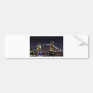 Turmbrücke London Autoaufkleber