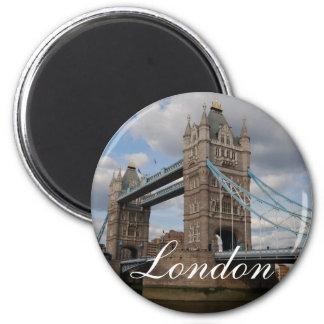 Turmbrücke London Runder Magnet 5,1 Cm