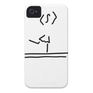 turnen schwebebalken maedchen Case-Mate iPhone 4 hülle