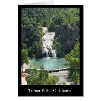 Turner-Fälle Karte