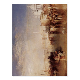Turner, Joseph Mallord William Venedig, vom Canale Postkarte