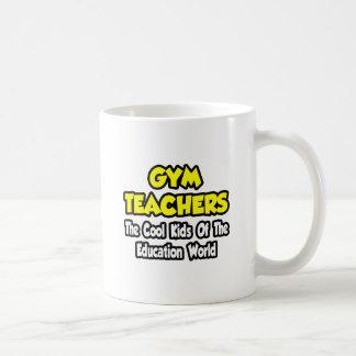 Turnhallen-Lehrer-… coole Kinder der Bildungs-Welt Kaffeetasse