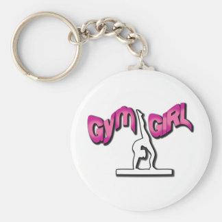 Turnhallen-Mädchen-Kleid Schlüsselanhänger