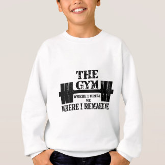 Turnhallen-Motivation Sweatshirt
