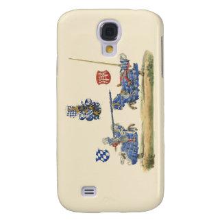 Turnierende Ritter - mittelalterliches Thema Galaxy S4 Hülle
