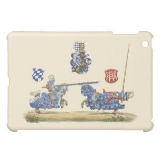 Turnierende Ritter - mittelalterliches Thema iPad Mini Hülle