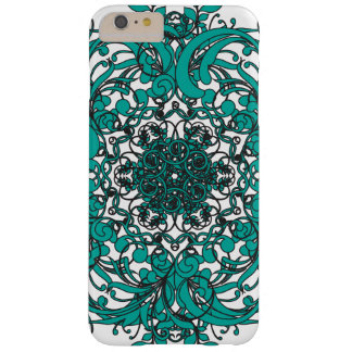 Turquois Mandala Barely There iPhone 6 Plus Hülle