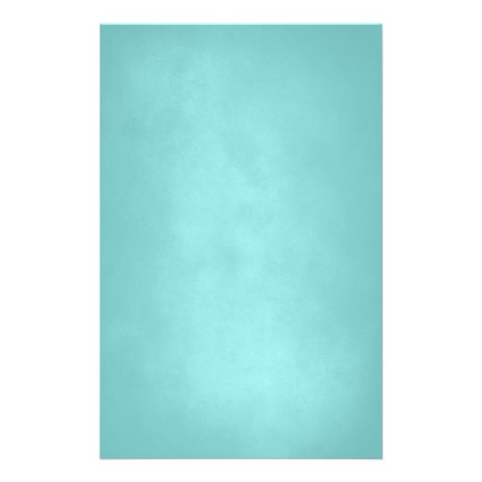 Turquoise textured stationery Paper Briefpapier