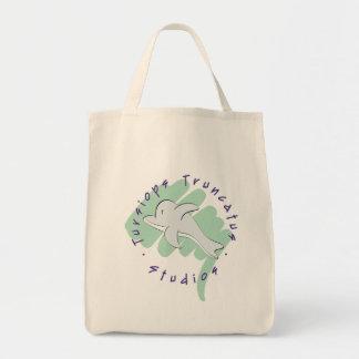 Tursiops Truncatus Studio-Logo-Tasche Einkaufstasche