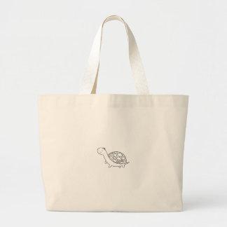 TURTLE/TORTOISE Shirts, Zusätze, Geschenke Jumbo Stoffbeutel