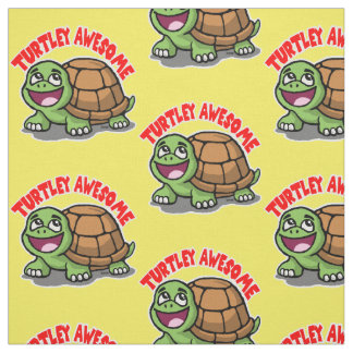 Turtley fantastisch stoff
