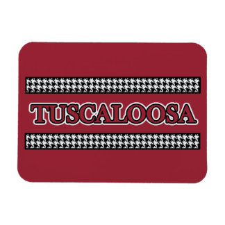 Tuscaloosa Hahnentrittmuster - Magnet