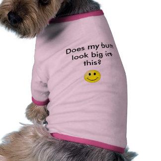 Tut meinen wertlosblick, der diesbezüglich groß is ringer Hunde-Shirt