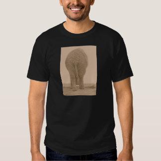 tut meinen wertlosblick großen Sepia Shirt