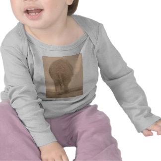 tut meinen wertlosblick großen Sepia T Shirt