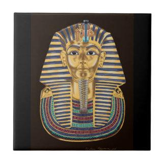 Tutankhamons goldene Maske Fliese