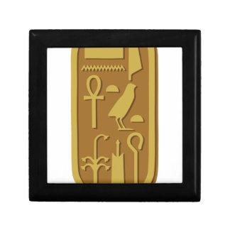 Tutankhamun Cartouche Schmuckschachtel