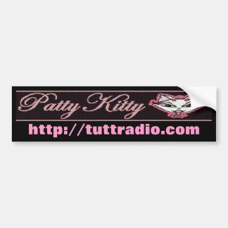 Tutt RadioPatty Kitty'' s-Autoaufkleber Autoaufkleber