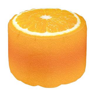 Tutti Frutti Orangen-Scheibe Hocker