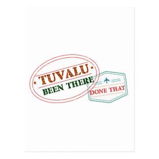 Tuvalu dort getan dem postkarte