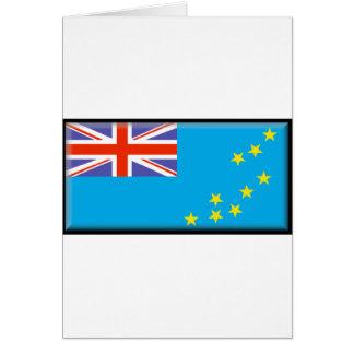 Tuvalu-Flagge Karte
