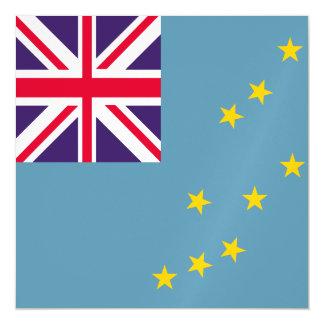 Tuvalu-Flagge Magnetische Karte