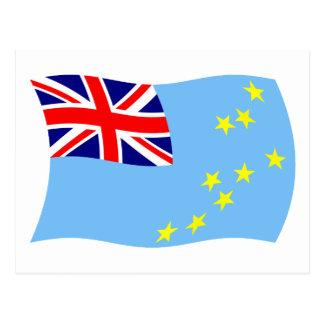 Tuvalu-Flaggen-Postkarte Postkarte