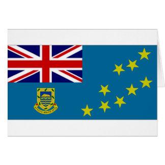 Tuvalu-Staats-Flagge Karte