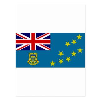 Tuvalu-Staats-Flagge Postkarte