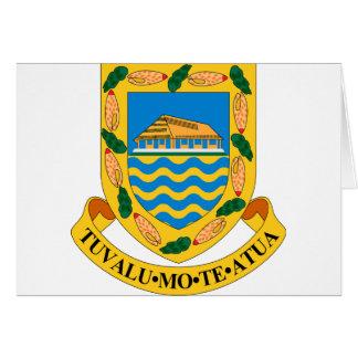 Tuvalu-Wappen Karte