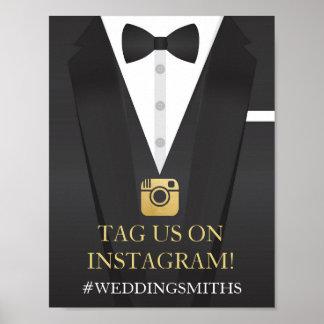 Tuxedo Instagram Poster