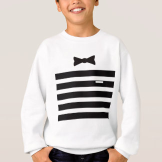 Tuxedo-Mann mehrfaches Gites ausgewählt Sweatshirt