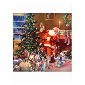 'Twas die Nacht vor Weihnachten Postkarte