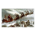 Twas die Nacht vor Weihnachten Visitenkarten