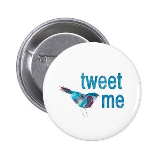 Tweete ICH Runder Button 5,7 Cm