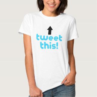 Tweeten dieses hemden