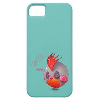 Tweeten kleiner roter Vogel iPhone 5 Hüllen