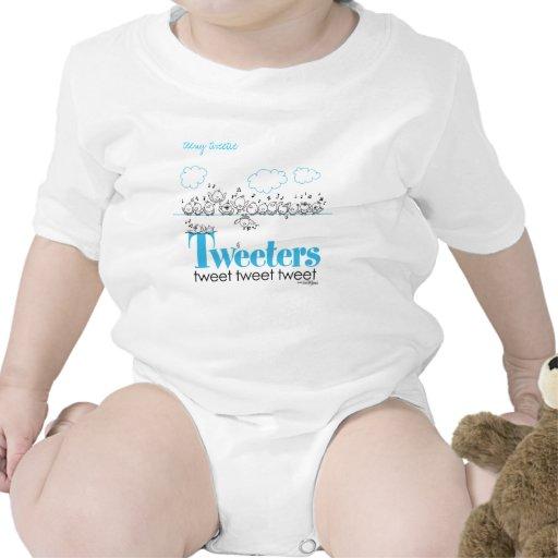 tweeten Sie - tweeten Sie - tweeten Tweetersbaby Baby Strampler
