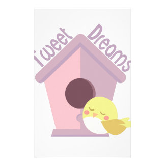 Tweeten Träume Briefpapier