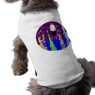 Tweeten Welt - süße Welt Ärmelfreies Hunde-Shirt