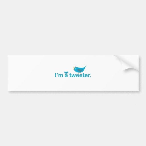 Tweeter Autosticker