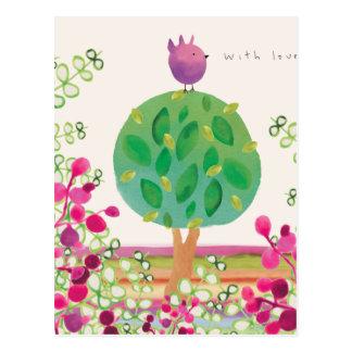 Tweeter-Garten Postkarten