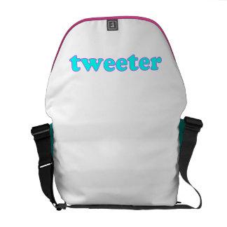 Tweeter Kuriertasche