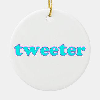 Tweeter Weihnachtsbaum Ornament
