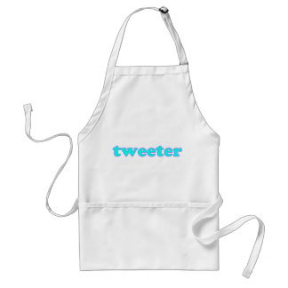 Tweeter Schürze