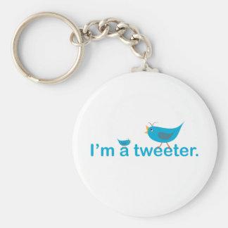 Tweeter Schlüsselanhänger